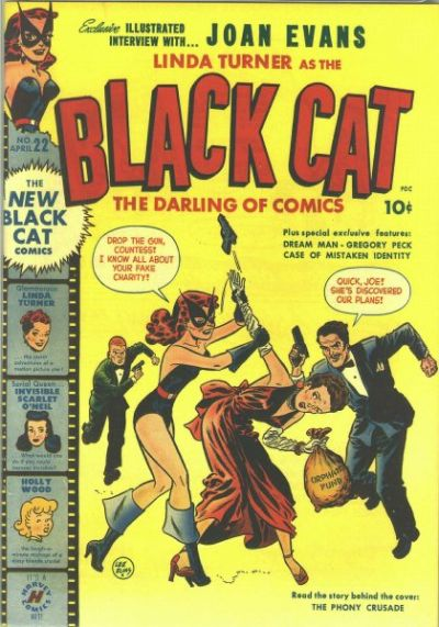 Black Cat Comics Vol 1 22