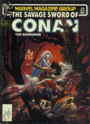 Savage Sword of Conan Vol 1 91