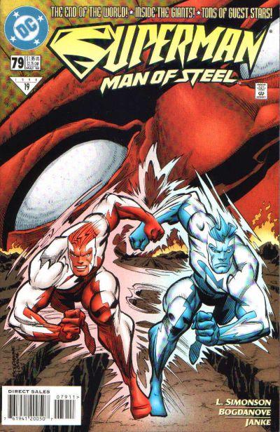 Superman: Man of Steel Vol 1 79