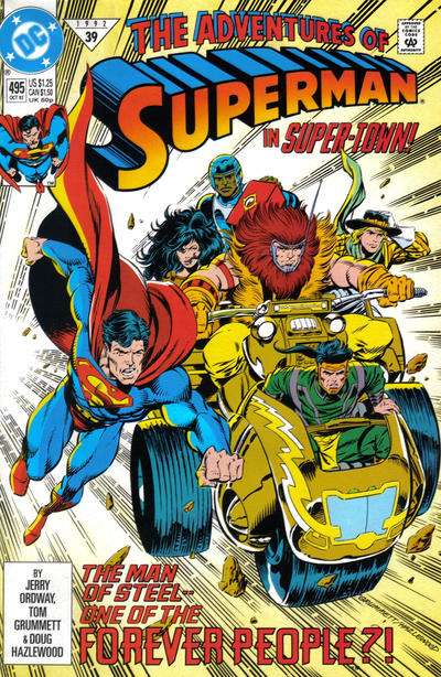 Adventures of Superman Vol 1 495
