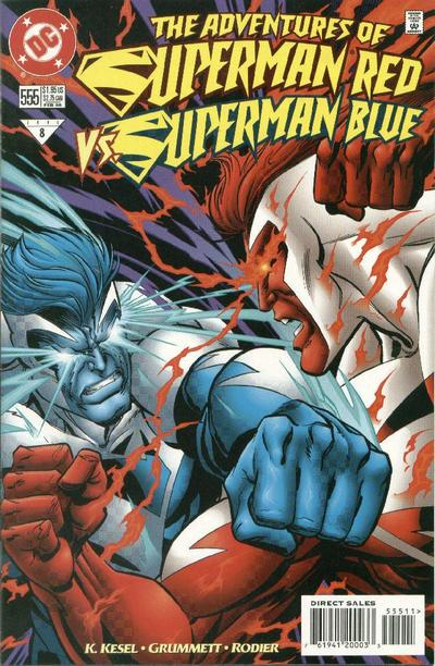 Adventures of Superman Vol 1 555