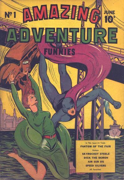 Amazing Adventure Funnies Vol 1