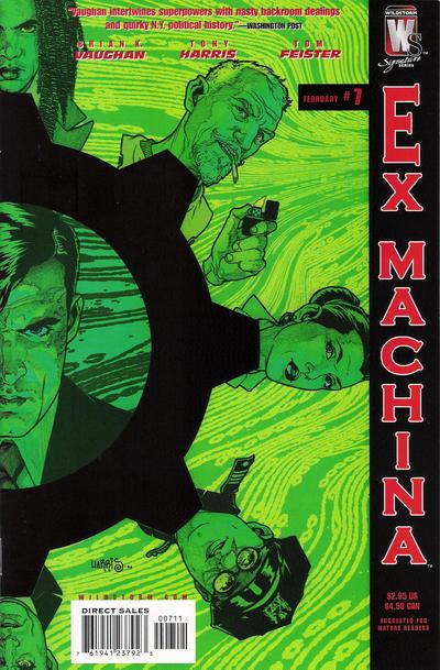 Ex Machina Vol 1 7