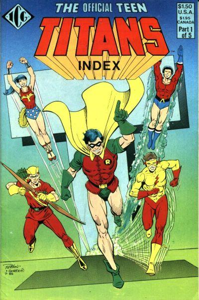 The Official Teen Titans Index Vol 1