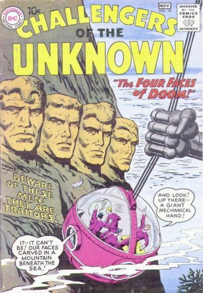 Challengers of the Unknown Vol 1 10