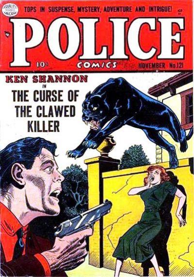 Police Comics Vol 1 121