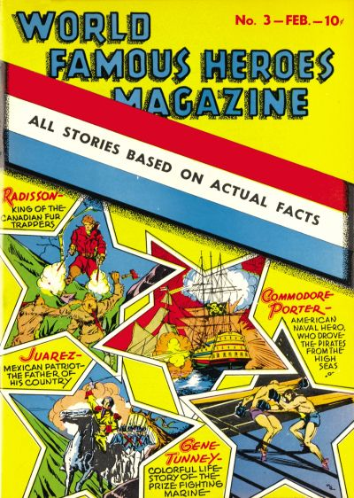 World Famous Heroes Magazine Vol 1 3