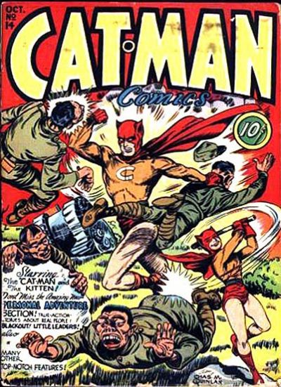 Cat-Man Comics Vol 1 14