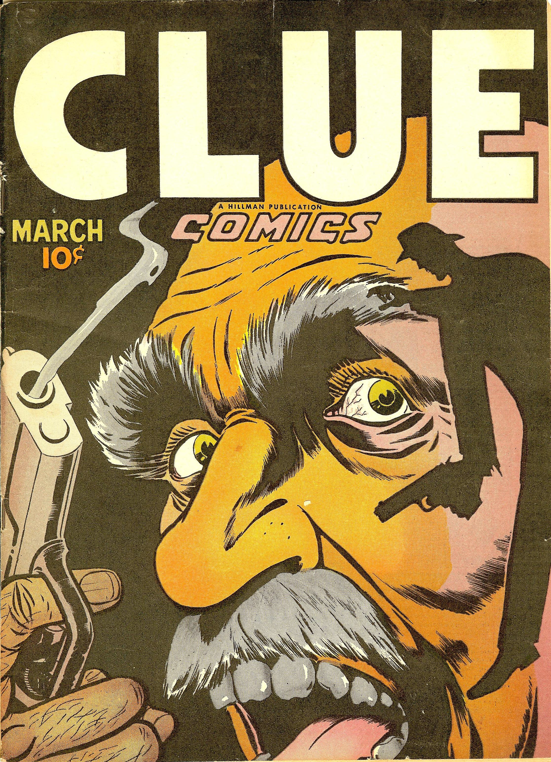 Clue Comics Vol 2 1