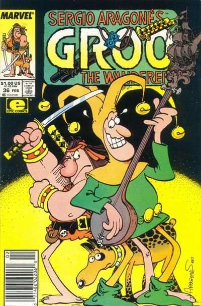 Groo the Wanderer Vol 1 36