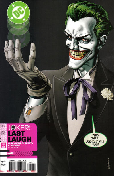 Joker: Last Laugh Vol 1 1