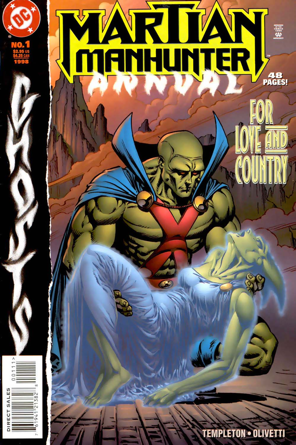 Martian Manhunter Annual Vol 2 1
