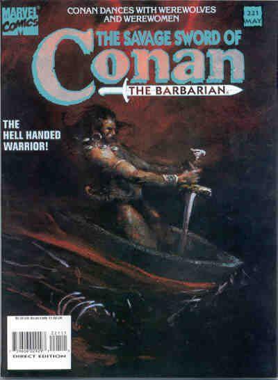 Savage Sword of Conan Vol 1 221