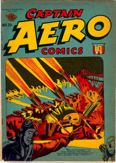Captain Aero Comics Vol 1 25
