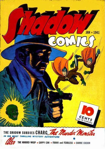 Shadow Comics Vol 1 8
