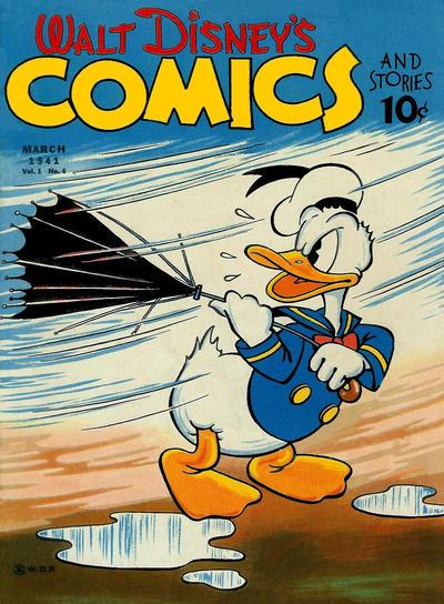 Walt Disney's Comics and Stories Vol 1 6