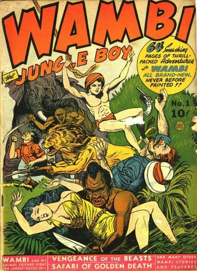 Wambi, the Jungle Boy Vol 1