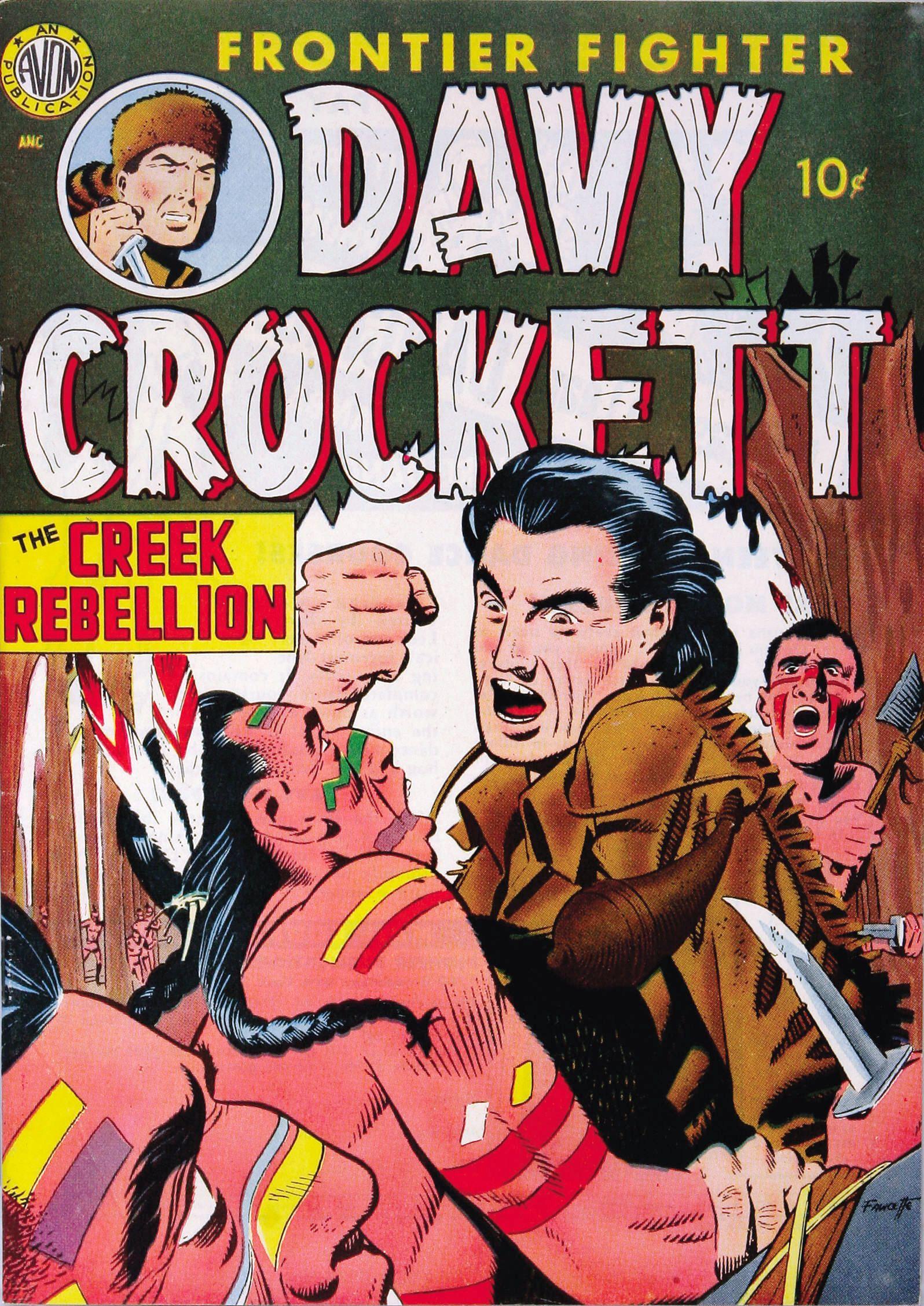 Davy Crockett Vol 1 1