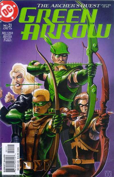 Green Arrow Vol 3 21
