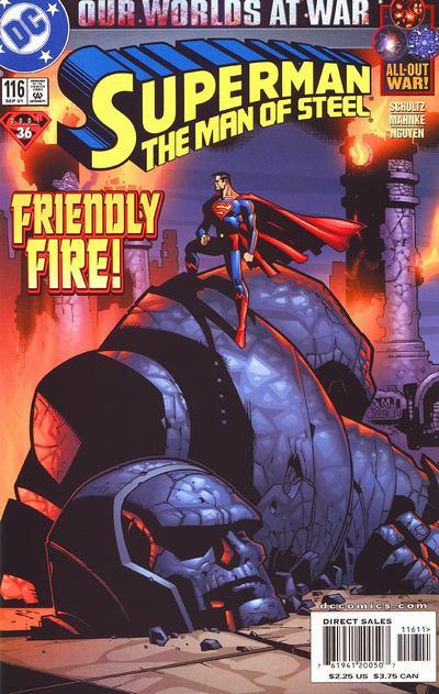 Superman: Man of Steel Vol 1 116