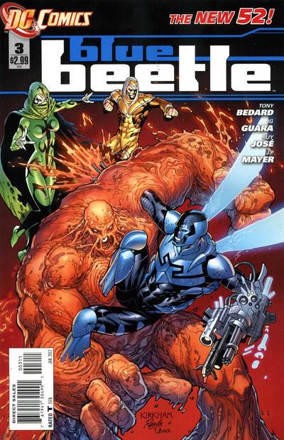Blue Beetle Vol 8 3