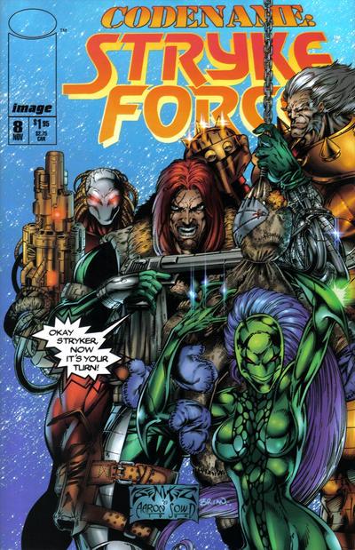 Codename: Stryke Force Vol 1 8