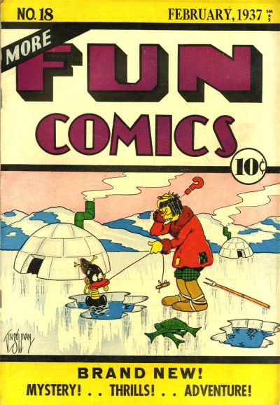 More Fun Comics Vol 1 18