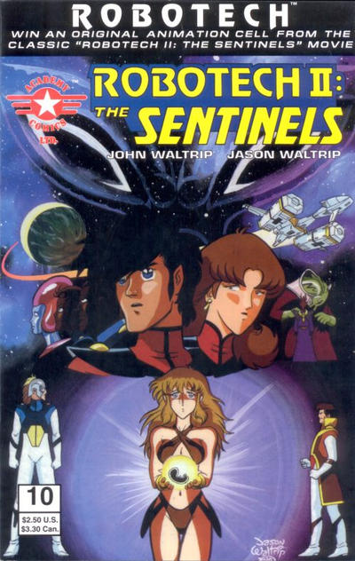 Robotech II: The Sentinels Book III Vol 1 10