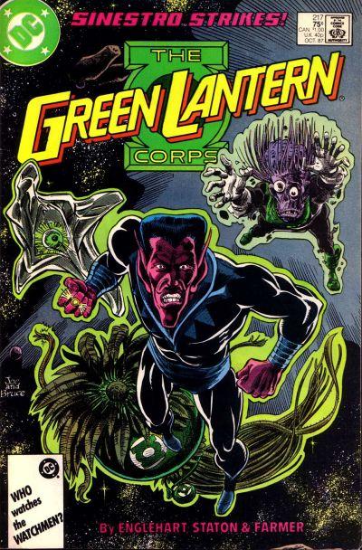 Green Lantern Corps Vol 1 217