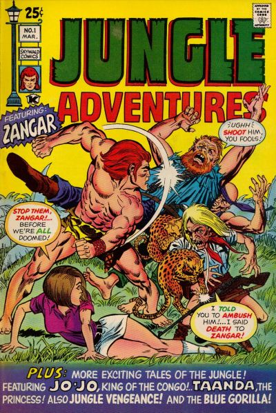 Jungle Adventures Vol 1