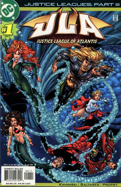 Justice Leagues: Justice League of Atlantis Vol 1 1