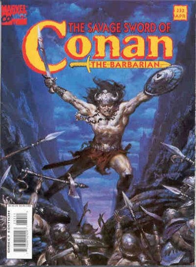 Savage Sword of Conan Vol 1 232