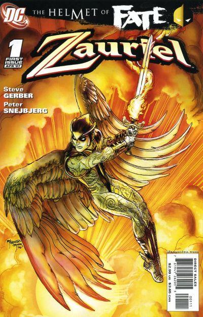 Helmet of Fate: Zauriel Vol 1 1