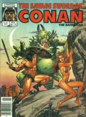 Savage Sword of Conan Vol 1 118