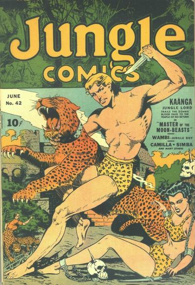 Jungle Comics Vol 1 42