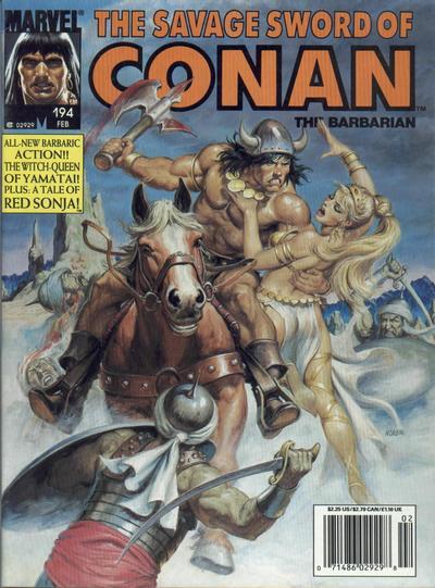 Savage Sword of Conan Vol 1 194