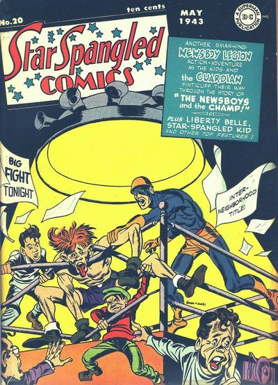 Star-Spangled Comics Vol 1 20