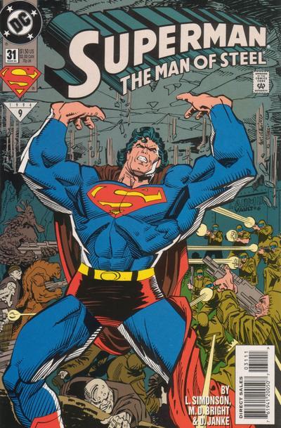 Superman: Man of Steel Vol 1 31
