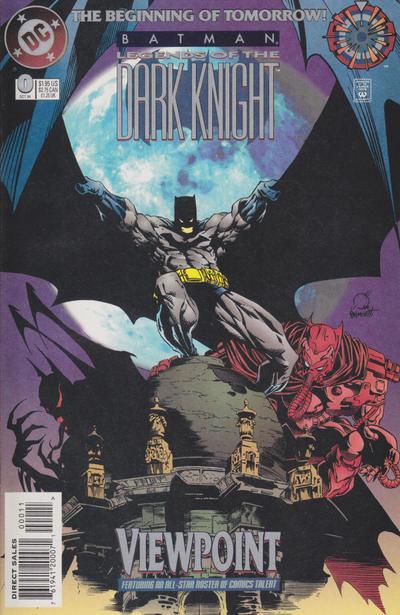 Batman: Legends of the Dark Knight Vol 1 0