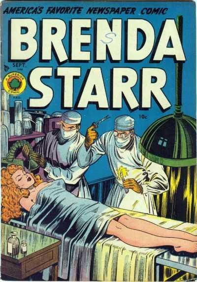Brenda Starr Comics Vol 1 4