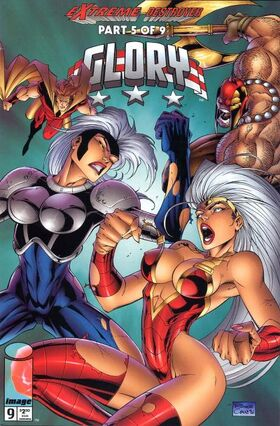 Cover for Glory #9 (1996)