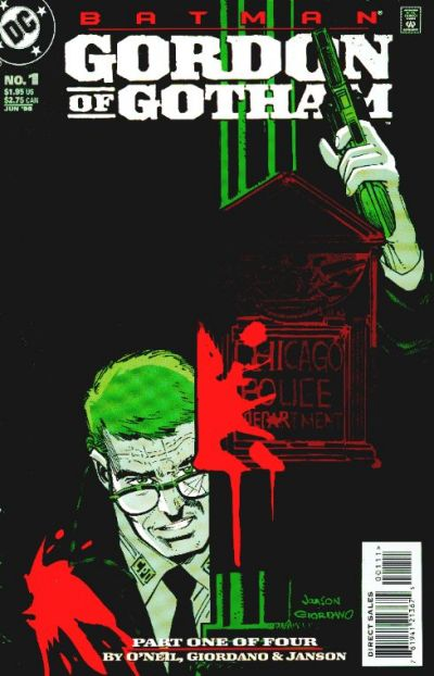 Batman: Gordon of Gotham/Covers