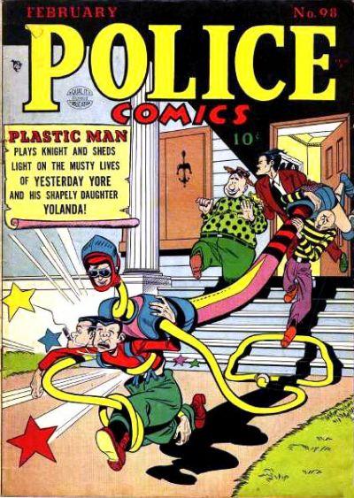 Police Comics Vol 1 98