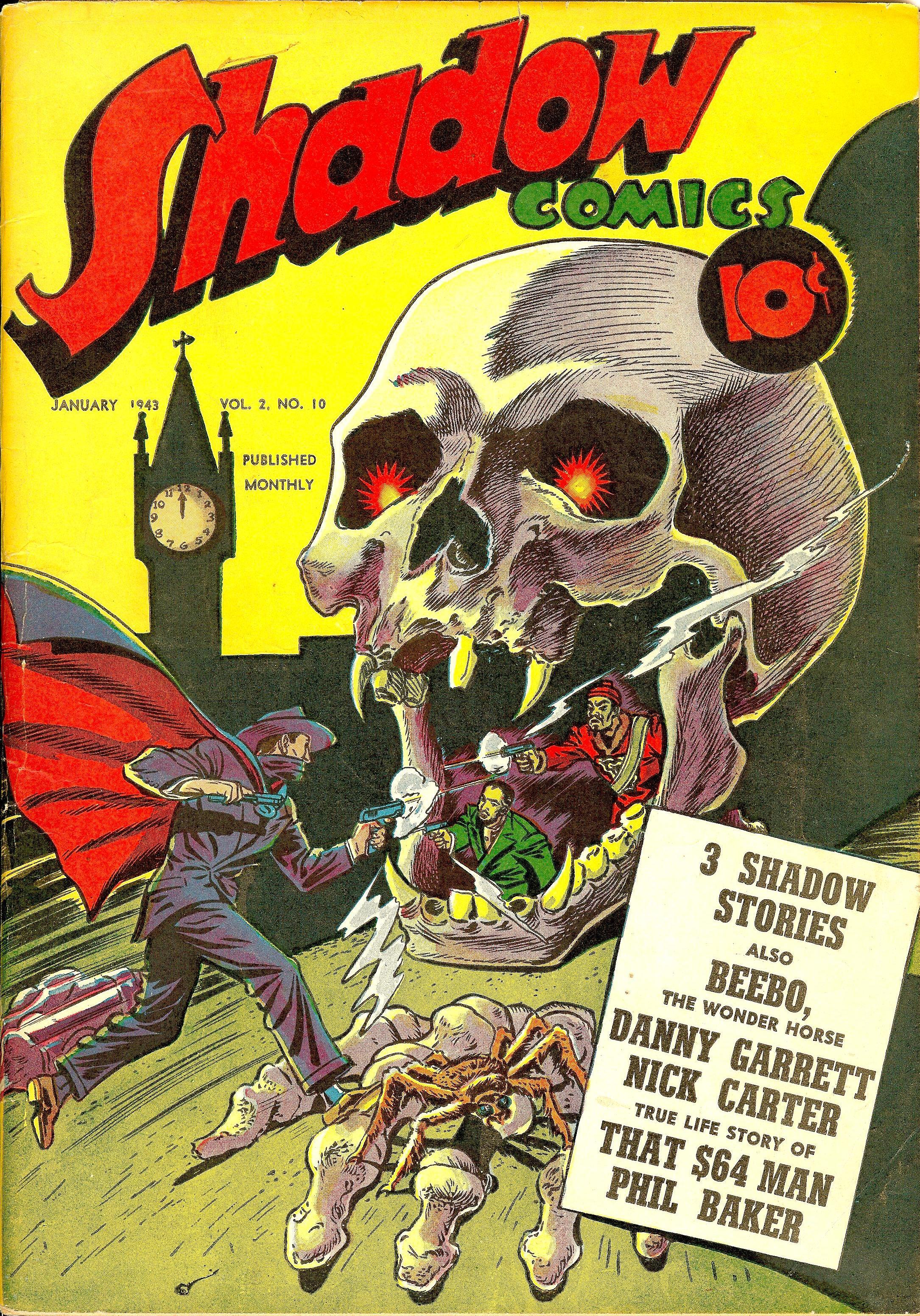 Shadow Comics Vol 2 10