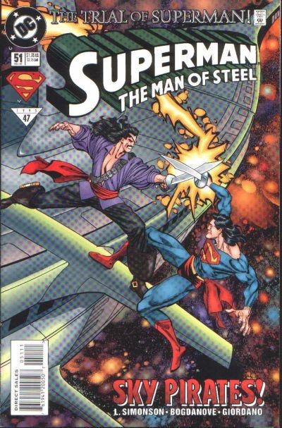 Superman: Man of Steel Vol 1 51