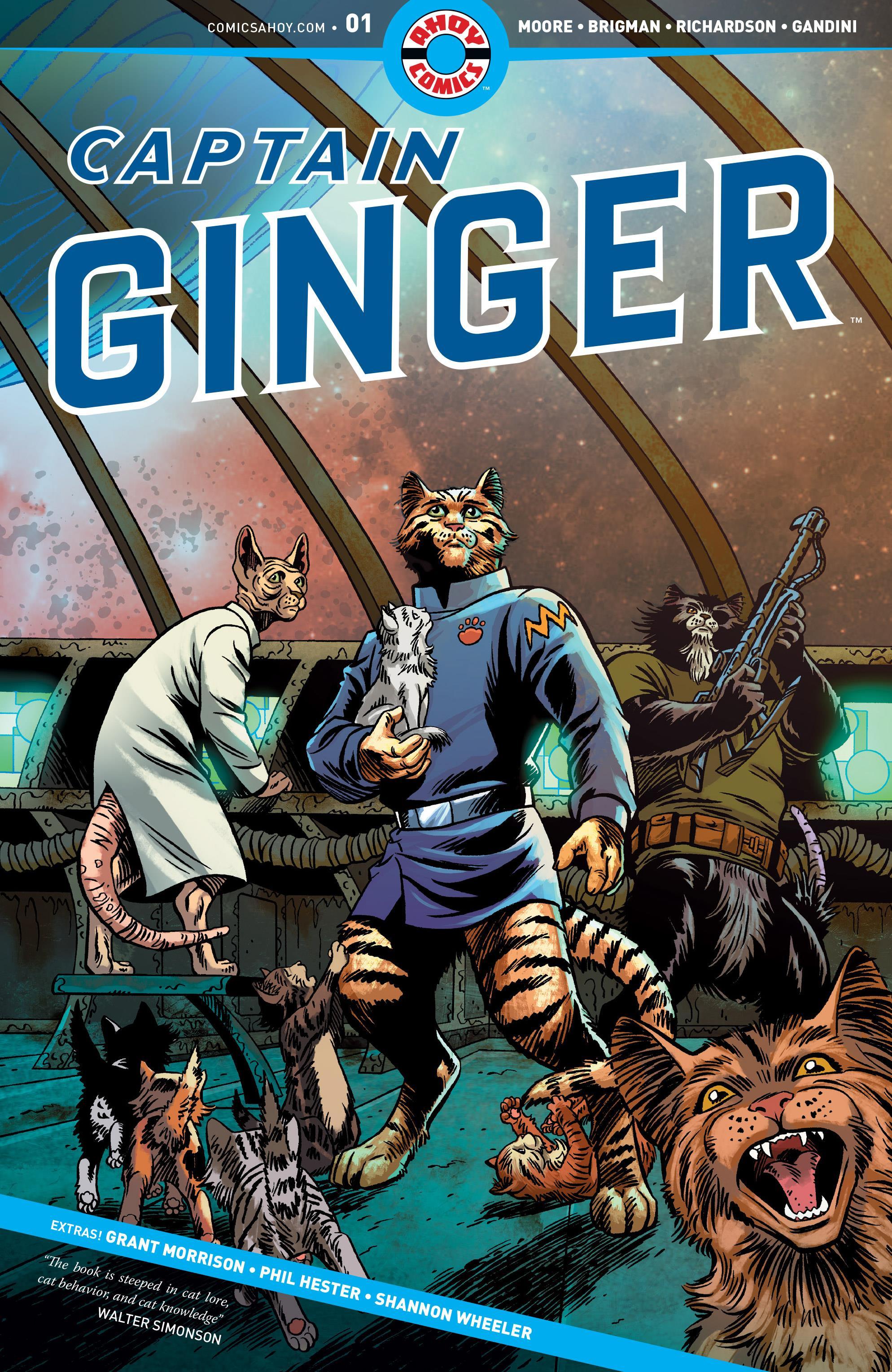 Captain Ginger Vol 1 1
