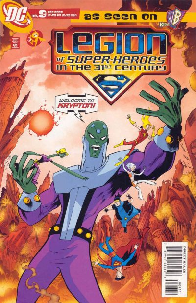 Legion of Super-Heroes in the 31st Century Vol 1 9
