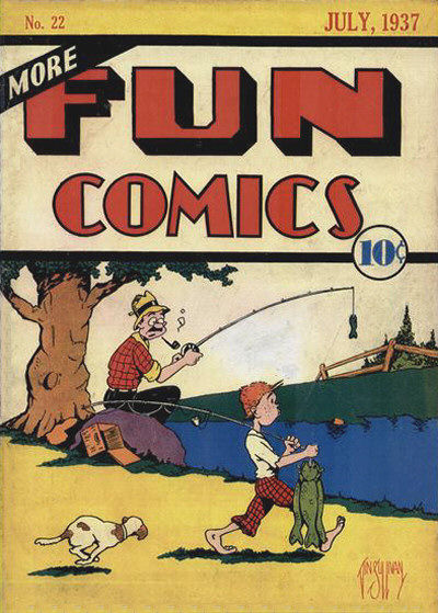 More Fun Comics Vol 1 22