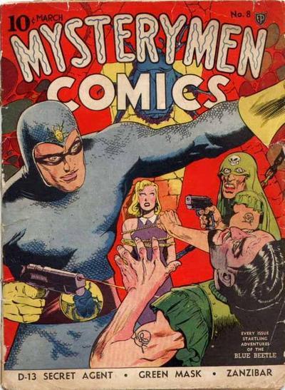 Mystery Men Comics Vol 1 8