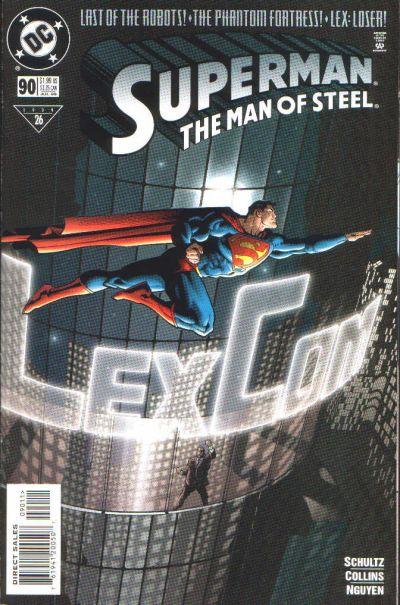 Superman: Man of Steel Vol 1 90